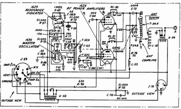 ARC-5 Schematic » Radios4Fun, Tom's Radio Workbench, ham radio on